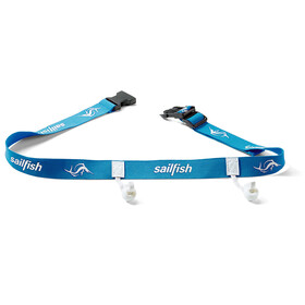 sailfish Racenumberbelt, blue/white